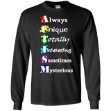 Always Unique... Autism Awareness Long Sleeve T-Shirt