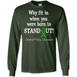 Born to Stand Out! Cerebral Palsy Awareness Long Sleeve T-Shirt
