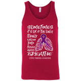 Breathe! Cystic Fibrosis Awareness Tank Top
