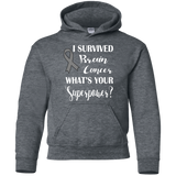 I Survived Brain Cancer! KIDS Hoodie