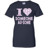 I love someone Au-Some! Autism Awareness T-Shirt