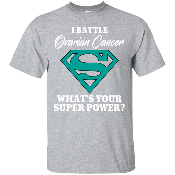 I Battle Ovarian Cancer... T-Shirt