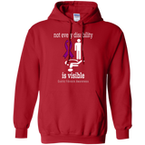 Not every Disability is visible... Cystic Fibrosis Awareness Hoodie