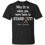 Born to Stand Out! Autism Awareness KIDS t-shirt