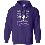 More than meets the Eye! Crohn's & Colitis Awareness Hoodie
