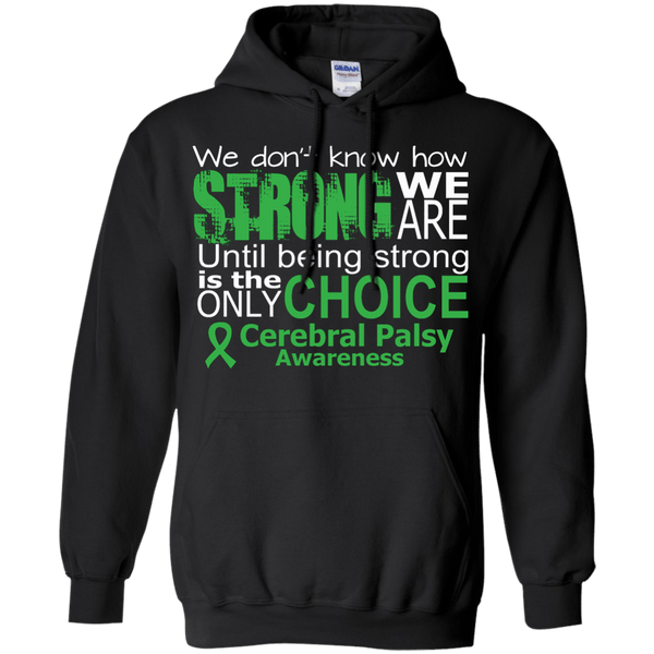 Pullover Hoodie 8 oz - We Don't Know How Strong...