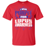 I Wear Purple for Lupus Awareness! T-shirt