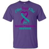 I Wear Purple & Teal!! Suicide Prevention Awareness T-shirt