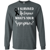 I Survived Melanoma! Long Sleeve T-Shirt