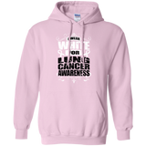I Wear White for Lung Cancer Awareness! Hoodie