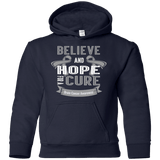 Believe and hope for a cure! Brain Cancer Awareness Kids Collection