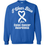 I Wear Blue for Colon Cancer Awareness... Long Sleeved Collection