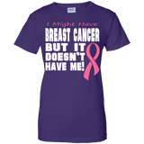 Breast Cancer Doesn't Have Me T-Shirt