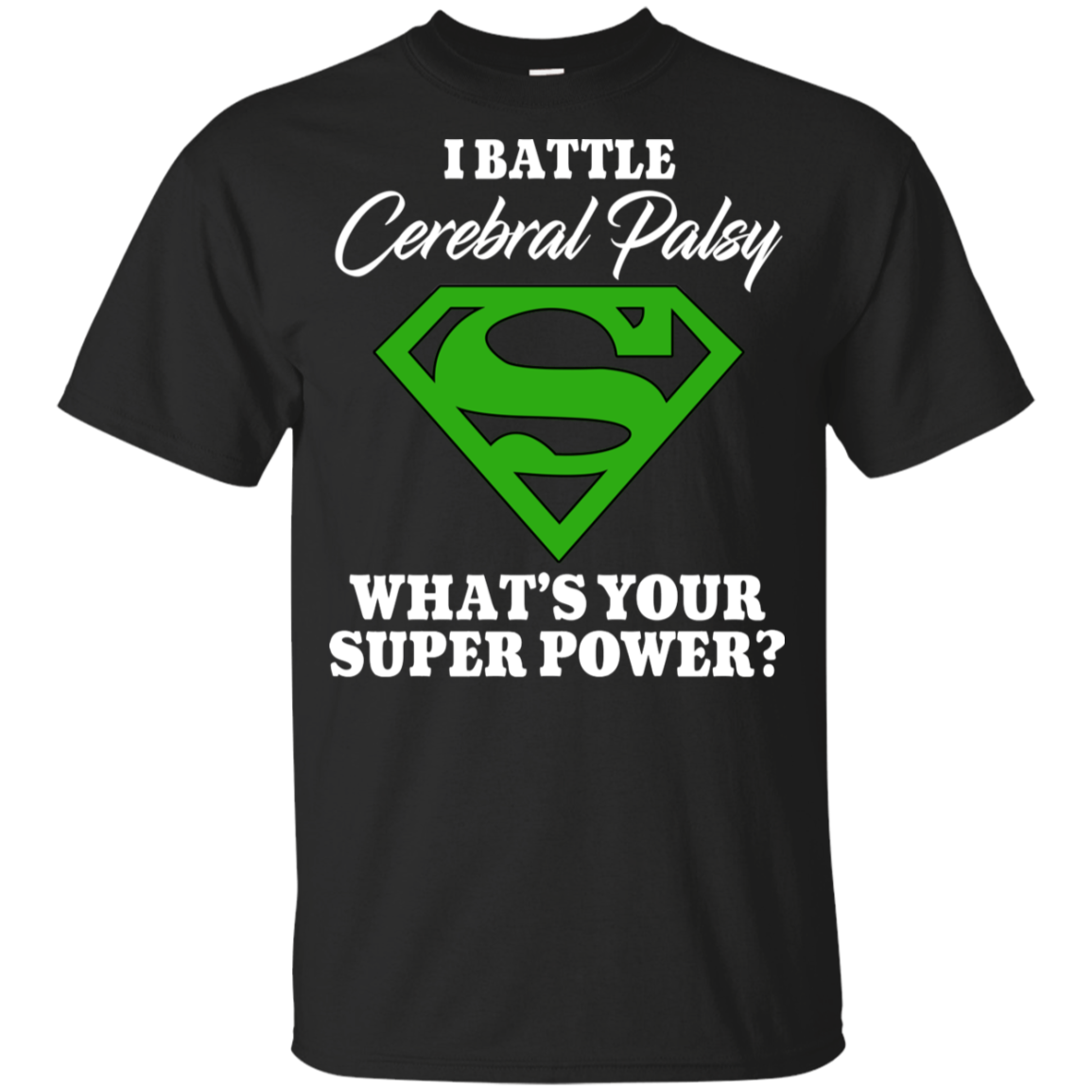 I Battle Cerebral Palsy  KIDS T Shirt