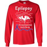 More than meets the Eye! Epilepsy Awareness Long Sleeve T-Shirt