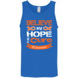 Believe & Hope for a Cure... MS Awareness Tank Top