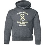 I Wear Cream! Spinal Muscular Atrophy Awareness KIDS Hoodie