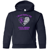 I wear Purple for Cystic Fibrosis... Kids Collection