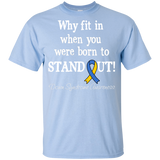 Born to Stand Out! Down Syndrome Awareness KIDS t-shirt