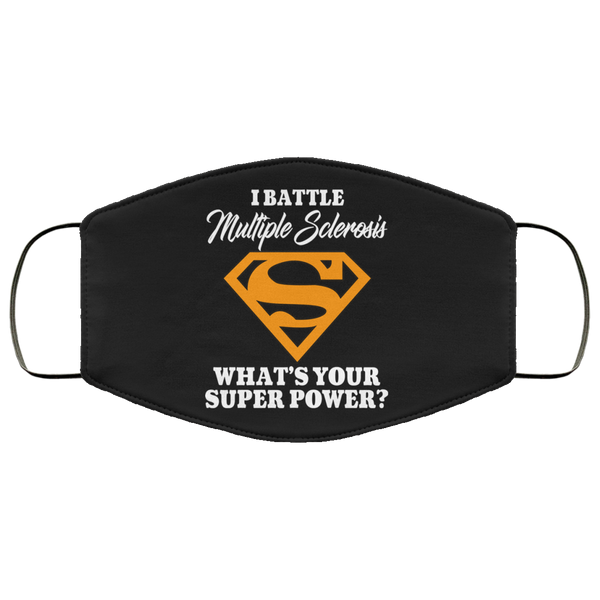 Multiple Sclerosis Super Power Face Mask