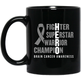 HERO! Brain Cancer Awareness Mug