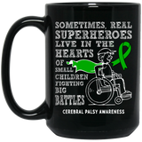 Real Superheroes! Cerebral Palsy Awareness Mug