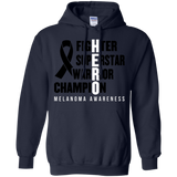 HERO! Melanoma Awareness Hoodie