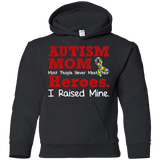 Youth Pullover Hoodie - Autism Mom