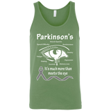 More than meets the Eye! Parkinson's Awareness Tank Top