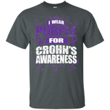 I Wear Purple for Crohn's Awareness! T-shirt