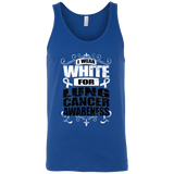 I Wear White for Lung Cancer Awareness! Tank Top