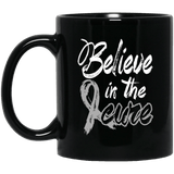 Believe in the cure! Brain Cancer Awareness Mug