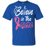 Believe in the cure -Breast Cancer Awareness Kids t-shirt