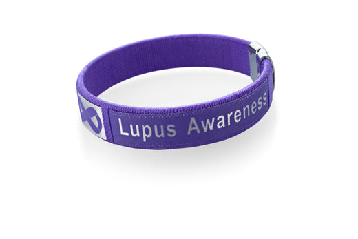 Lupus Awareness Bangle