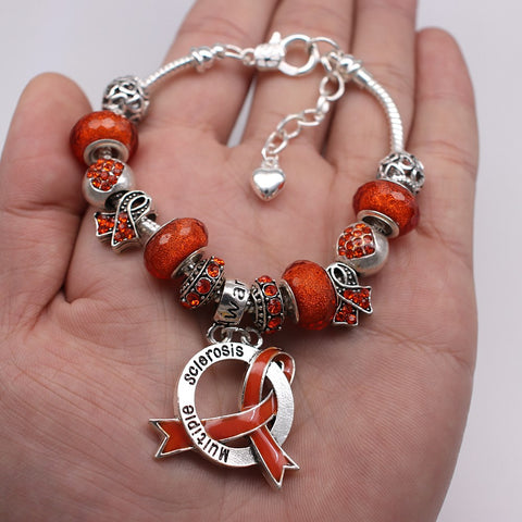 2019 MS Awareness Luxury Charm Bracelet