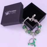 Muscular Dystrophy Awareness Luxury Charm Bracelet