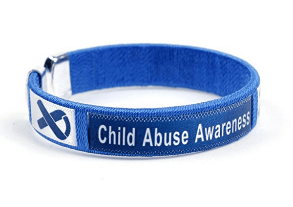 Child Abuse Awareness Bangle