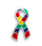 5 Pack Autism Awareness Pins