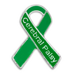 5 Pack Cerebral Palsy Awareness Pins
