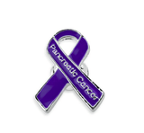 5 Pack Pancreatic Cancer Awareness Pins