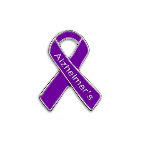 5 Pack Alzheimer's Awareness Pins