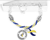 Down Syndrome Awareness Link Bracelet