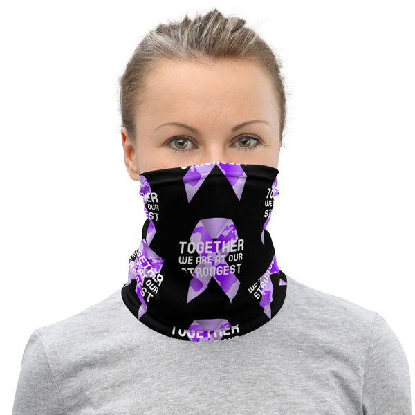 Domestic Violence Awareness Together We Are at Our Strongest Face Mask / Neck Gaiter