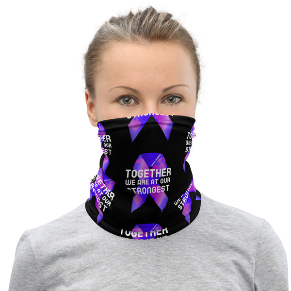 Rheumatoid Arthritis Awareness Together We Are at Our Strongest Face Mask / Neck Gaiter