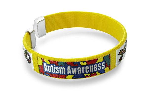 5 Pack Autism Awareness Bangle