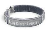 5 Pack Brain Cancer Awareness Bangle