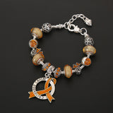 Childhood Cancer Awareness Luxury Charm Bracelet