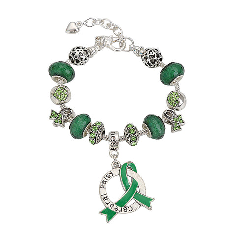 Cerebral Palsy Awareness Luxury Charm Bracelet