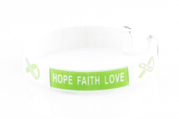 Organ Donors Hope Faith Love Bangle Bracelet