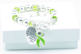 Organ Donors 'Where There is Love..' Awareness Bracelet